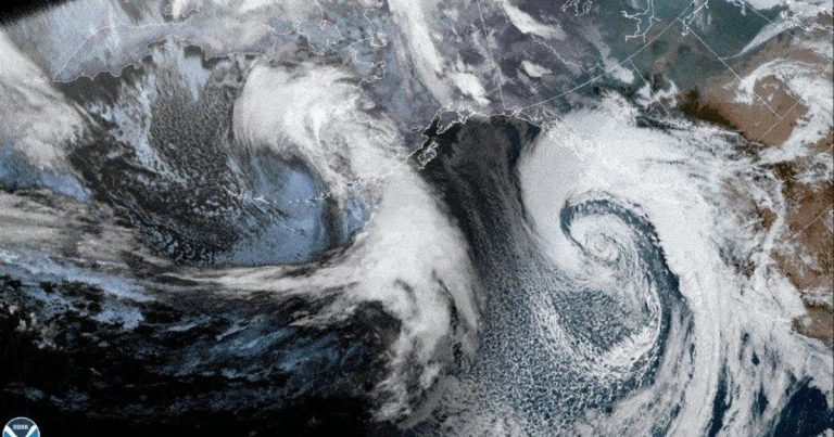 Bomb cyclone and atmospheric river lash Northern California