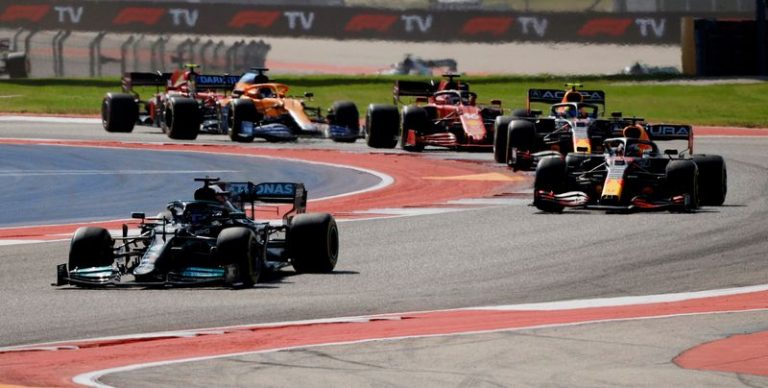 Motor racing-Team by team analysis of the U.S. Grand Prix