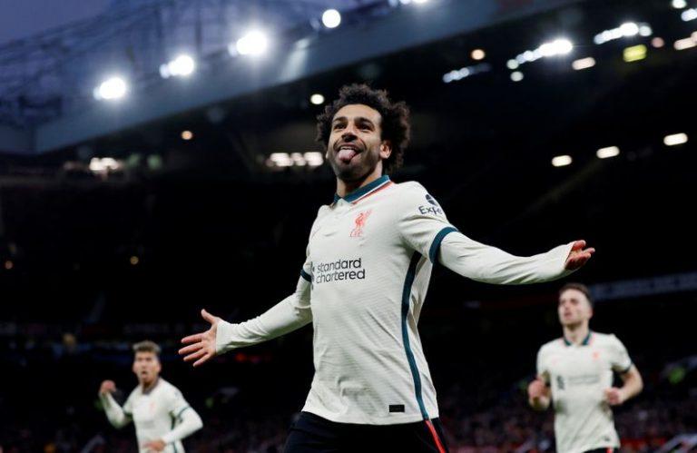 Soccer-Salah hat-trick as Liverpool put five past United to increase pressure on Solskjaer