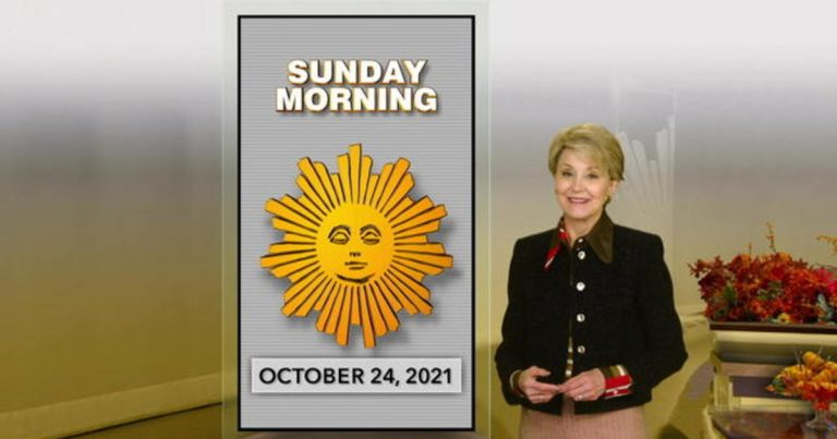 """Sunday Morning"" Full Episode 10/24"